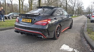 Mercedes-AMG CLA45 with Custom Catless Downpipe REVS amp; LAUNCH CONTROL