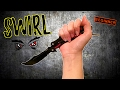 Swirl (Beginner)- Beginner Butterfly Knife Tricks that look IMPRESSIVE