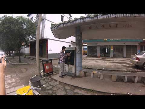 Yangshuo Bicycle Tour Part 1: Yangshuo to the Dragon Bridge