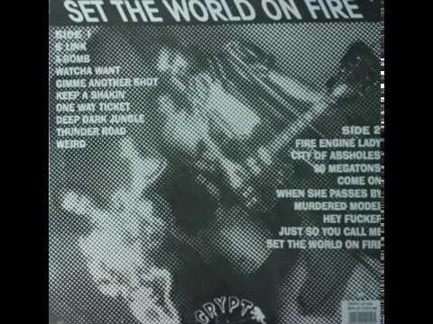 Fireworks-Set the world on fire-FULL VINYL