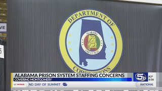 Alabama prison staffing issues