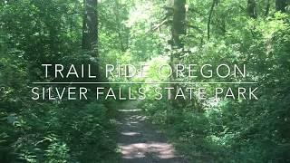 Silver Falls Horseback Ride, Sublimity