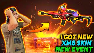 I Got New Fiery Pumpkin Xm8 From Incubator Spin - Luckiest Day Ever In Garena Free Fire