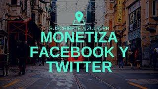 SOCIALEK MONETIZA TUS REDES SOCIALES FACEBOOK Y TWITTER