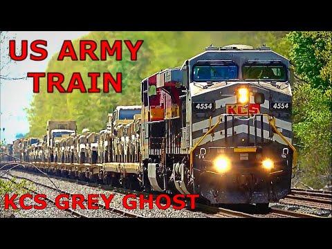 US Military Train
