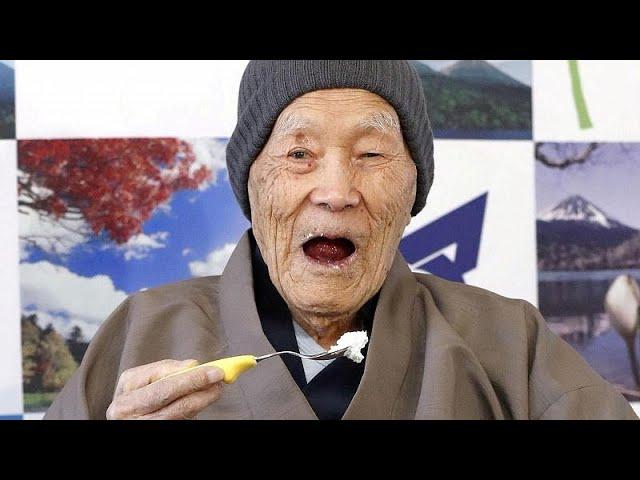 В Японии умер самый старый в мире мужчина