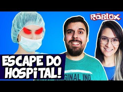 ESCAPE DO HOSPITAL! - Roblox Ft. Cali