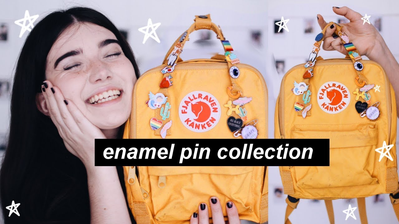 🎒ENAMEL PIN COLLECTION 2017 🌿