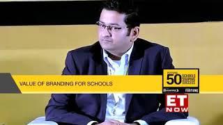 Podar World School - Raghav Podar speaking at the Future 50 Schools Shaping Success Summit.