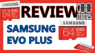quick Review Samsung EVO sdxc 64 GB with unboxing