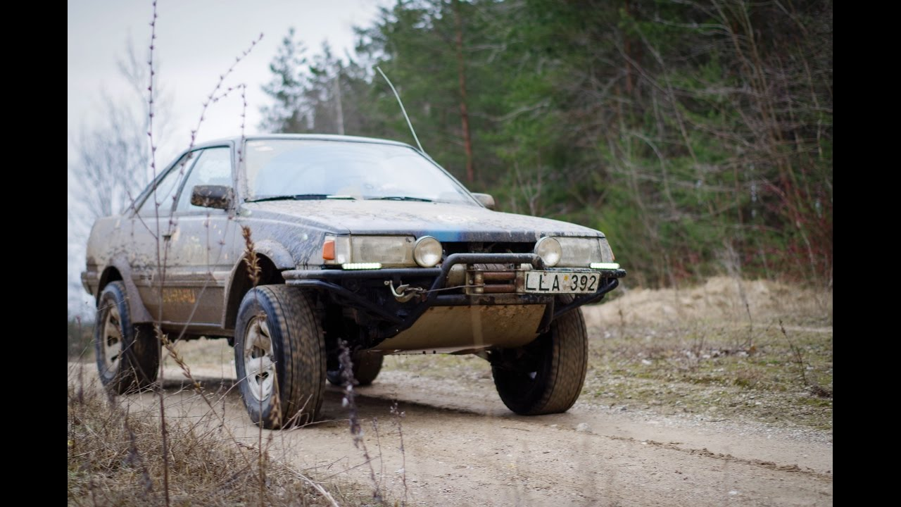 Lifted Subaru Impreza >> Subaru leone coupe off road - YouTube