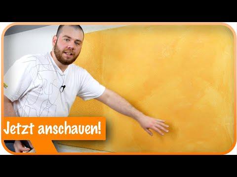 Lasur-Technik Mit WANDFARBE I Kreative Wandgestaltung Selber Machen 💪
