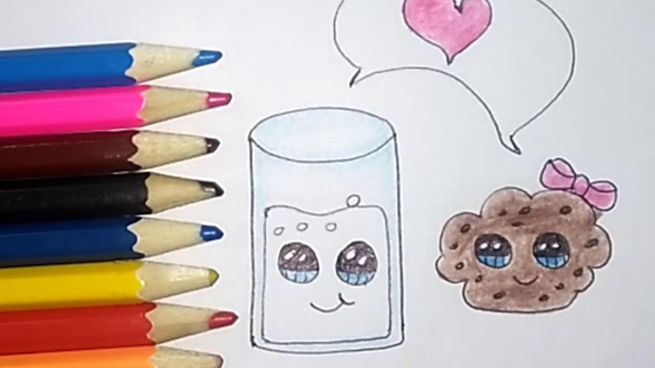 رسم سهل جدا للاطفال رسومات جميلة Draw Very Easy And Cute Youtube
