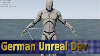 Unreal Engine 4 Tutorial Deutsch [#42] - CHARAKTER BASIC Know How