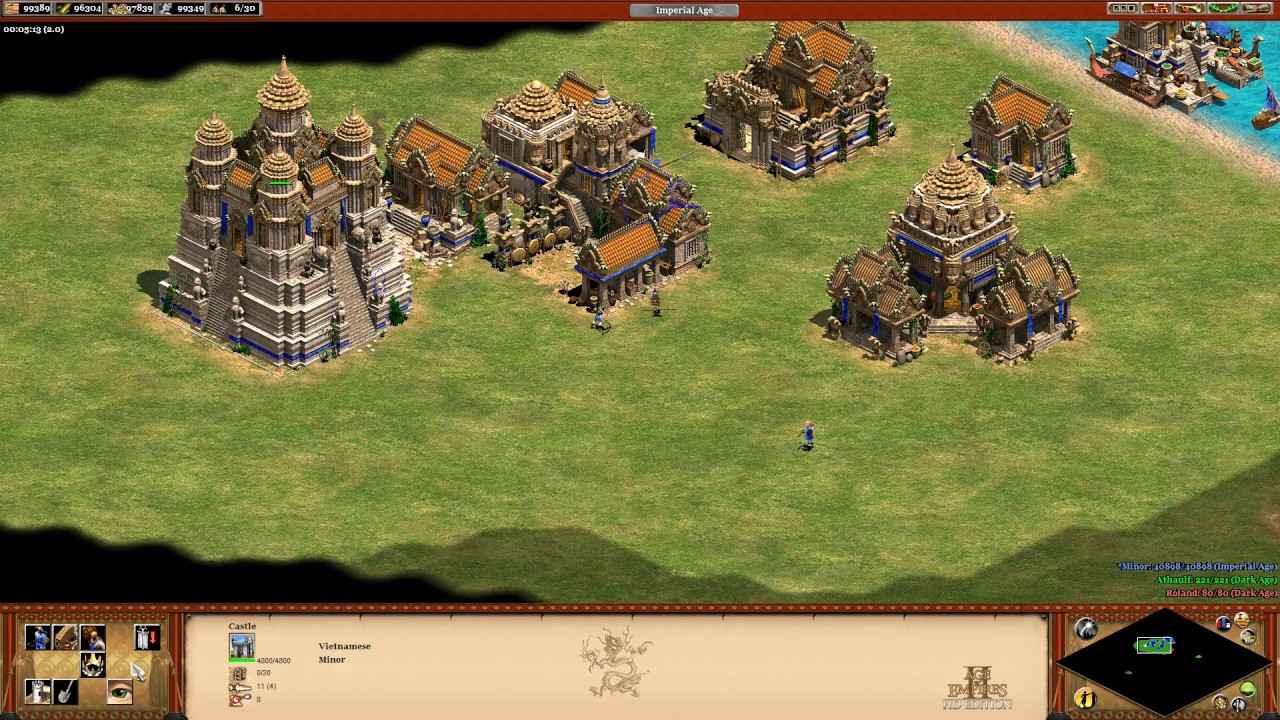 Age of Empires II: Rise Of The Rajas - #4 Vietnamese Civilisation