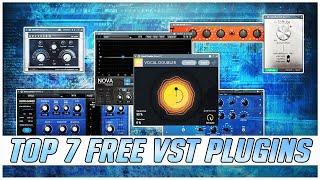 Top 7 FREE VST Plugins fürs Vocal Mixing 🌊🎤 2020