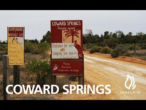 Coward Springs Campground - Oodnadatta Track, South Australia