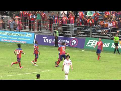 [Full Highlight HD]08.08.2012 – Thai Port FC. – BB-CU FC.