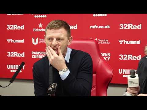 Graeme Jones on the victory over Middlesbrough