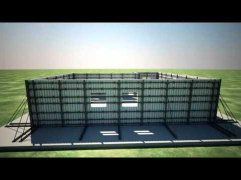 Construccion facil segura y economica youtube - Construir una casa economica ...