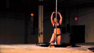 Jennifer Scholl ~ Gateway Pole Dance Competition ~ Midwest Regional Semis ~