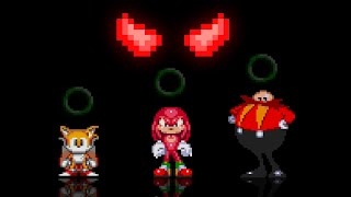 Tutorial: What happens if you choose the 3 wrong choices with the 3 green rings? Sonic.exe SoH