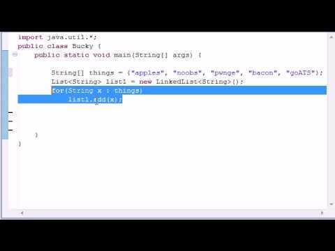 intermediate-java-tutorial---6---linkedlist
