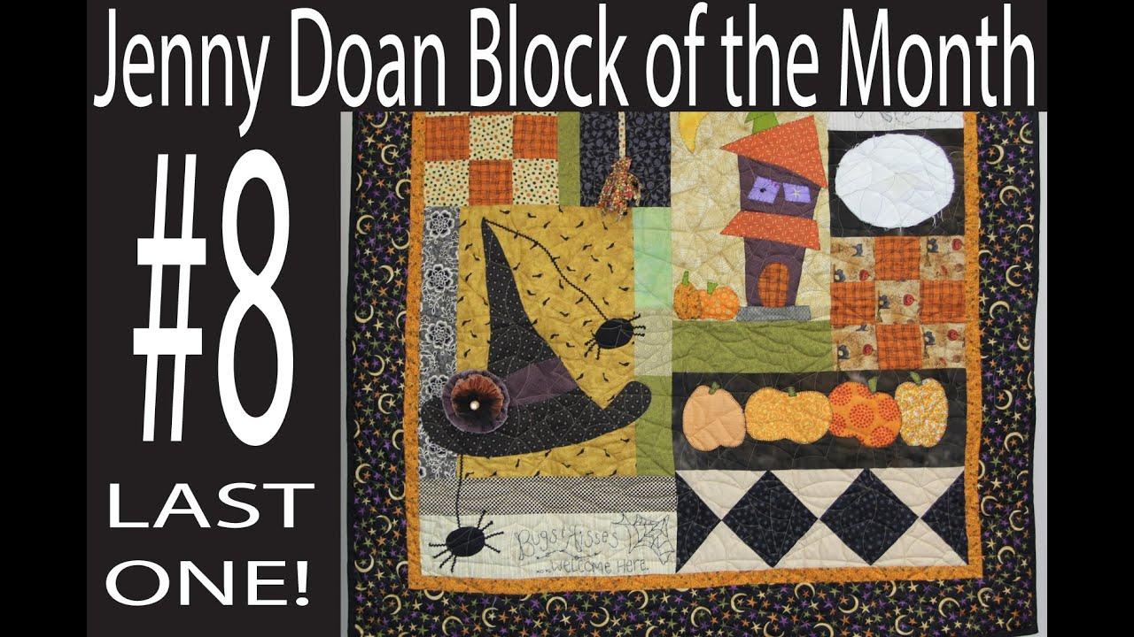 Jenny Doan Block of the Month (BOTM) #8- Missouri Star Quilt ... : missouri star quilt company tutorials channel - Adamdwight.com