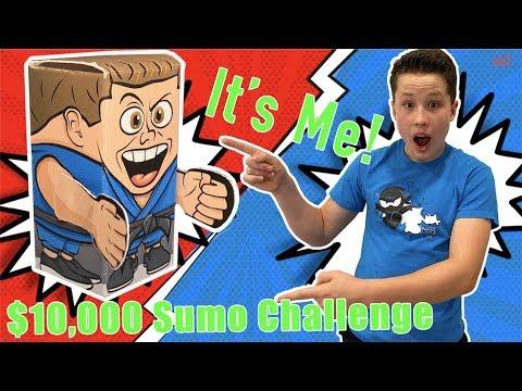 Bryton's a Hexbug SUMO! $10,000 CHALLENGE!