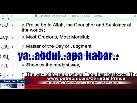 Christian Prince ( Teks Indonesia ) Rahasia hanya al-LAH yang tahu : muhammad SAW sudah sunat belum