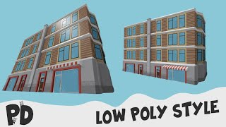 ROBLOX - Low Poly Style Build Time-lapse