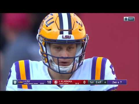 2019 - LSU Tigers At Alabama Crimson Tide In 40 Minutes