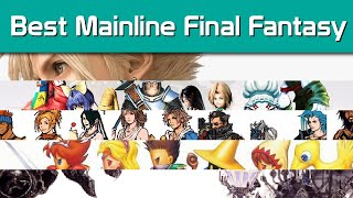 Top 5 Mainline Final Fantasy Games - Noisy Pixel Top Lists