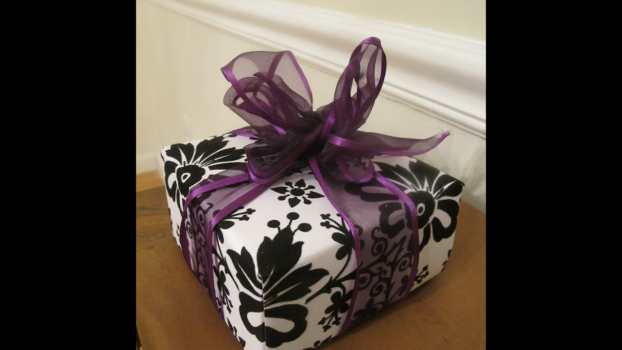 How to make scrapbook paper at home - How To Make A Gift Box Out Of