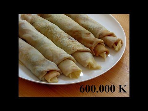 Domaće Palačinke recept || Ukusne i meke palačinke