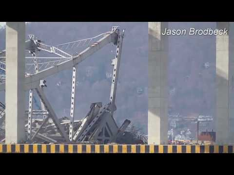 A video of the demolition of the old Tappan Zee Bridge