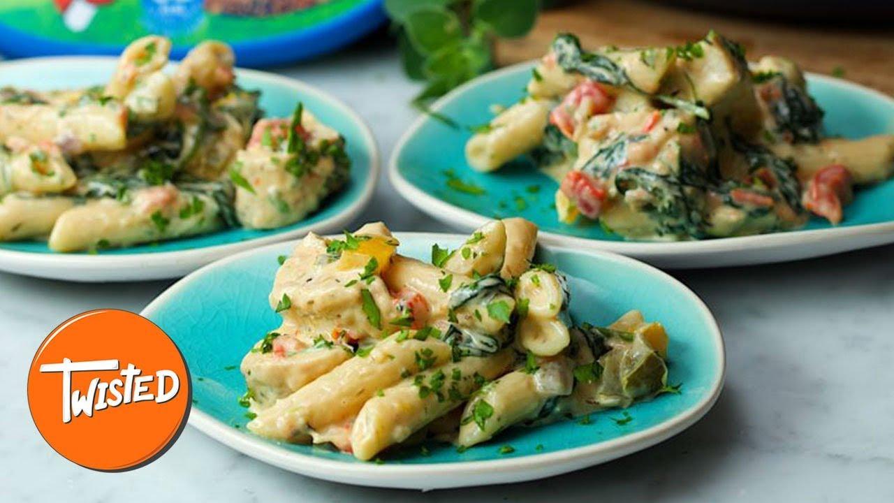 Tuscan Chicken Pasta Recipe | Twisted