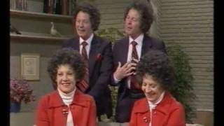 Two pairs of married twins - TV-am 1983