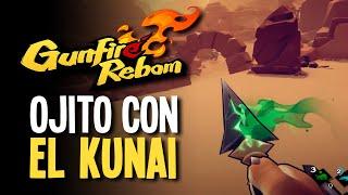 GUNFIRE REBORN | Furro y Naruto tirando kunais | Llegamos a la tercera zona!