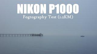 Nikon P1000: Fogtography Zoom Test (1.2KM)