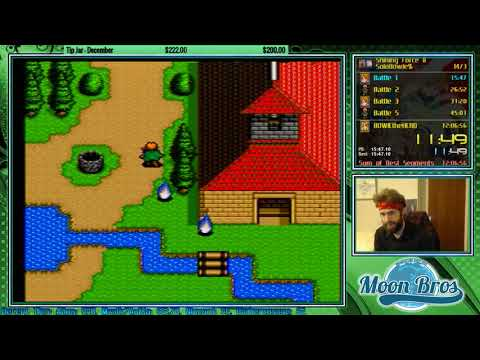 Shining Force II Solo Bowie Challenge Speedrun In 9:57:05