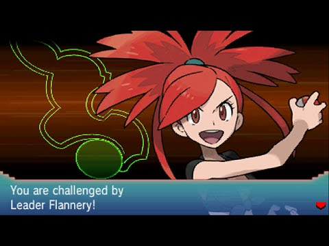 Pokemon Omega Ruby - Gym Leader 4: Flannery