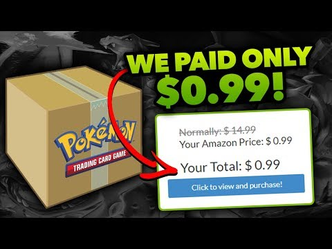 WE PAID ONLY $0.99 EACH?!! Really Cheap Pokemon Cards!!
