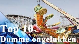 TOP 10 Domme ongelukken met attracties