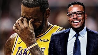 Paul Pierce can't stop hating Lebron compilation