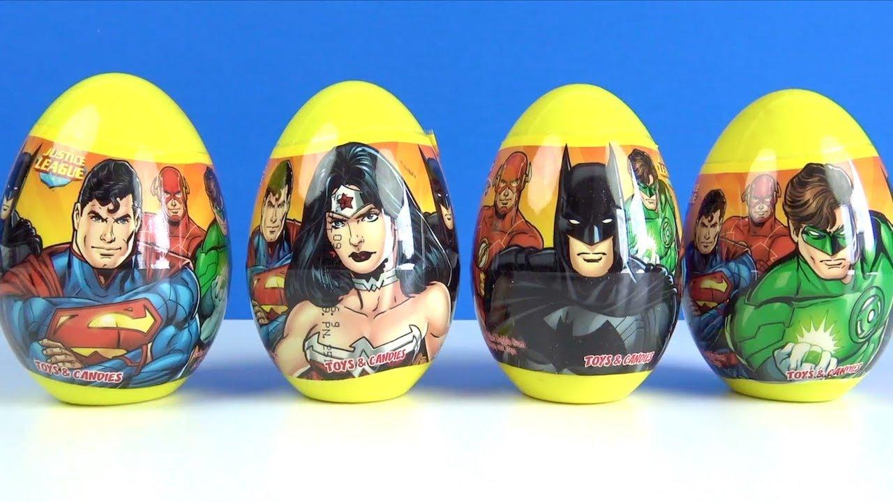 Download Süper kahramanlar sürpriz yumurtaları açıyoruz Adalet Takımı renkli oyun hamuru ile hamur oyunları
