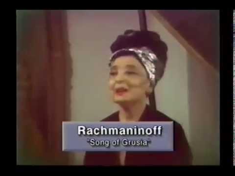 Rachmaninoff, Song of Grusia - Theremin: Clara Rockmore