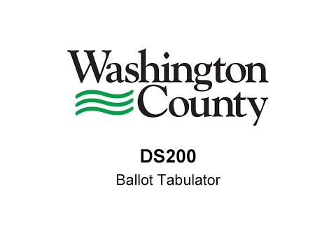DS200 Election Equipment Training Video