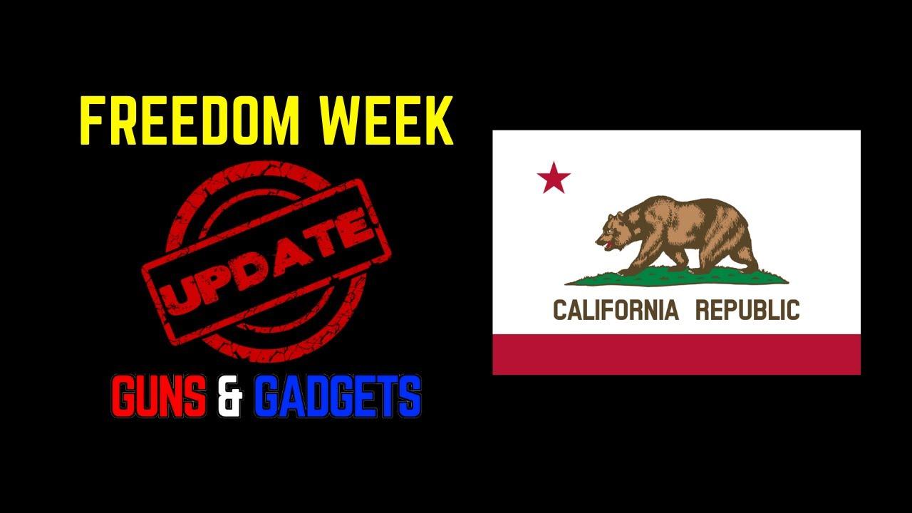 Freedom Week Update