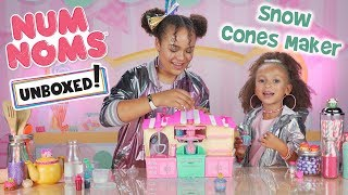 UNBOXED! | Num Noms | Season 3 Episode 7: Snackables Snow Cone Maker